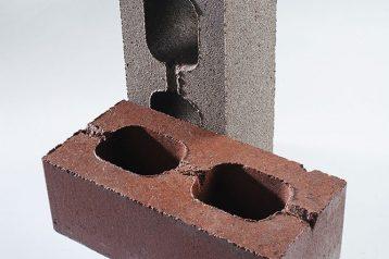 Кирпич бетонный облицовочный гладкий
