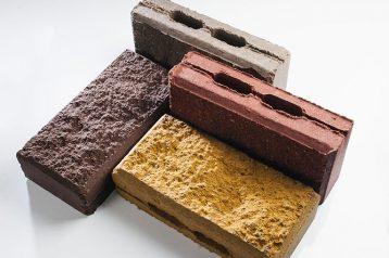 Камень бетонный облицовочный с обнажённой фактурой