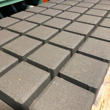 Тротуарная плитка Кубик вид 1